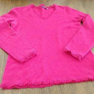Magaschoni pink cashmere sweater
